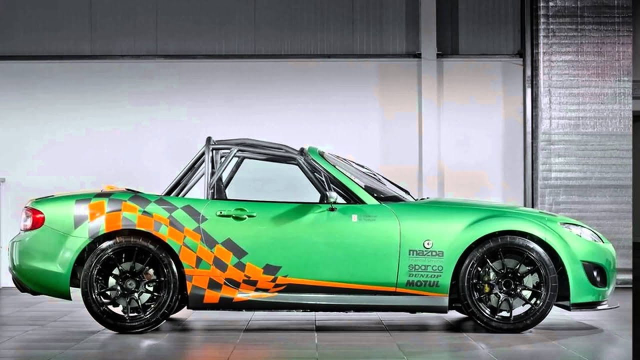 2011 Mazda MX-5 GT Race Car - YouTube