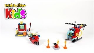 Lego Juniors 10685 Fire Suitcase – Lego Speed Build for Kids