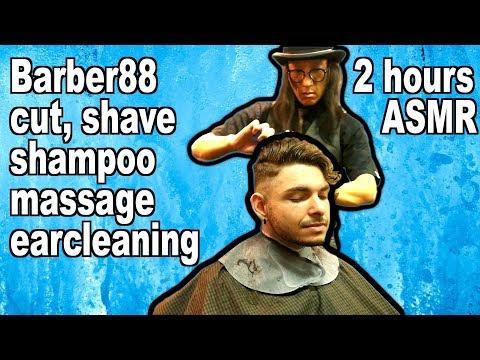 Barber88's 2 Hour ASMR Barbershop visit