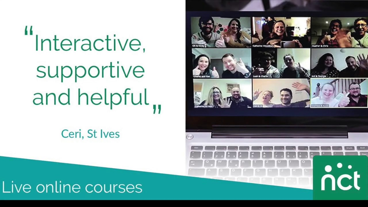 You are not alone: NCT online antenatal course