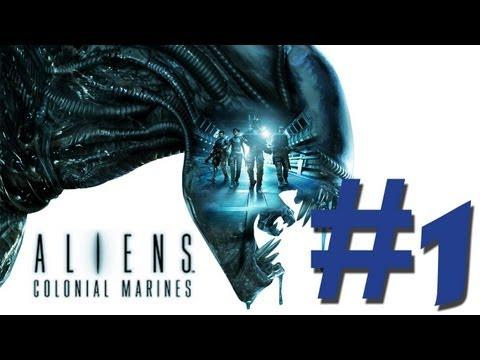 Aliens Colonial Marines| Walkthrough Español #Parte 1 - Misión 1 (HD1080p)