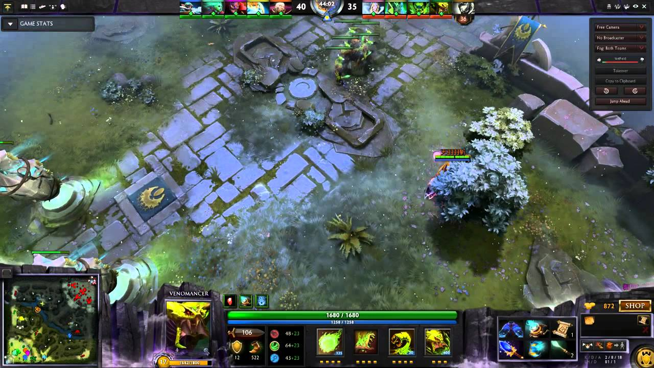 How To Utilize A Haste Rune In Dota 2 With Venomancer
