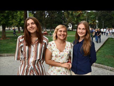Интервью со студентами-филологами из СПбГУ в Албании