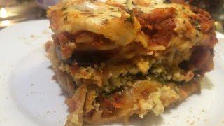 Gluten free & Vegan crockpot lasagna