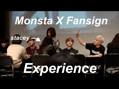 Download Youtube: MONSTA X FANSIGN EXPERIENCE -Vlog