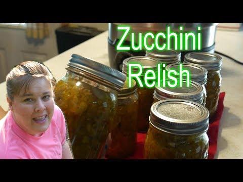 Amish Zucchini Hot Dog Relish Tessie's Canning Recipe