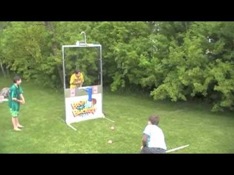 Beat the bucket perfect backyard dunk tank alternative youtube solutioingenieria Image collections