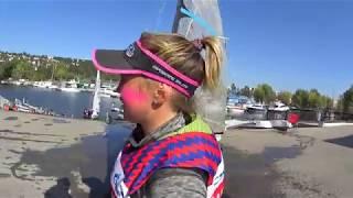 ЧР-2019 Парусный спорт. Конец гоночного дня. Северная гавань