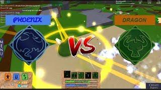 PHOENIX vs DRAGON |*MYTHICAL*| Roblox Elemental Battlegrounds