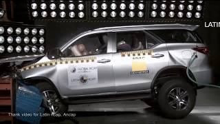 Download Video Test Tabrak Honda CRV vs Fortuner , Pajero Sport, Jazz ,Innova 2017 MP3 3GP MP4