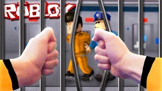 Roblox in real life - ESCAPEFROM ROBLOX'S PRISION IN REAL LIFE!!