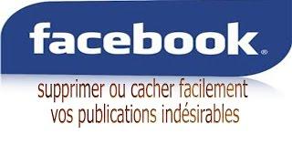 Facebook: supprimer ou cacher vos posts indésirables facilement