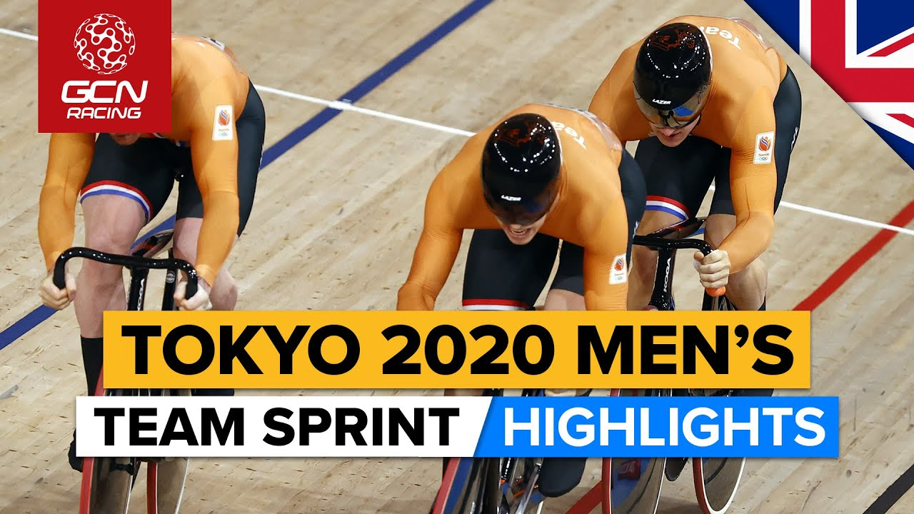Tokyo 2020 Men's Team Sprint Final Highlights
