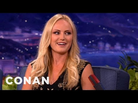 Malin Akerman: Portrait Of Swedish Tradition  CONAN on TBS