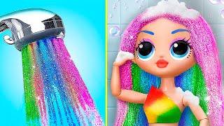 Rainbow LOL Surprise DIYs
