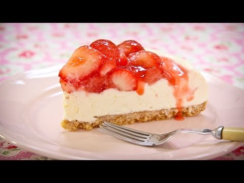 Sweet Eve Simple Strawberry Cheesecake Recipe