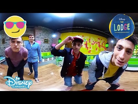 The Lodge | 360 Video: Behind The Scenes Dance Rehearsal | Official Disney Channel UK