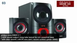 10 Best Home 2.15.1 speakerwoofer under Rs 6000 (100)