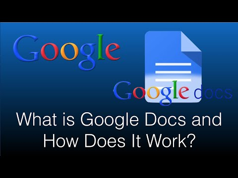 What is Google Docs and How Does It Work - 2016 App Review