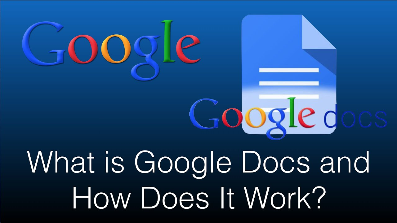 what is google docs and how does it work 2016 app review youtube