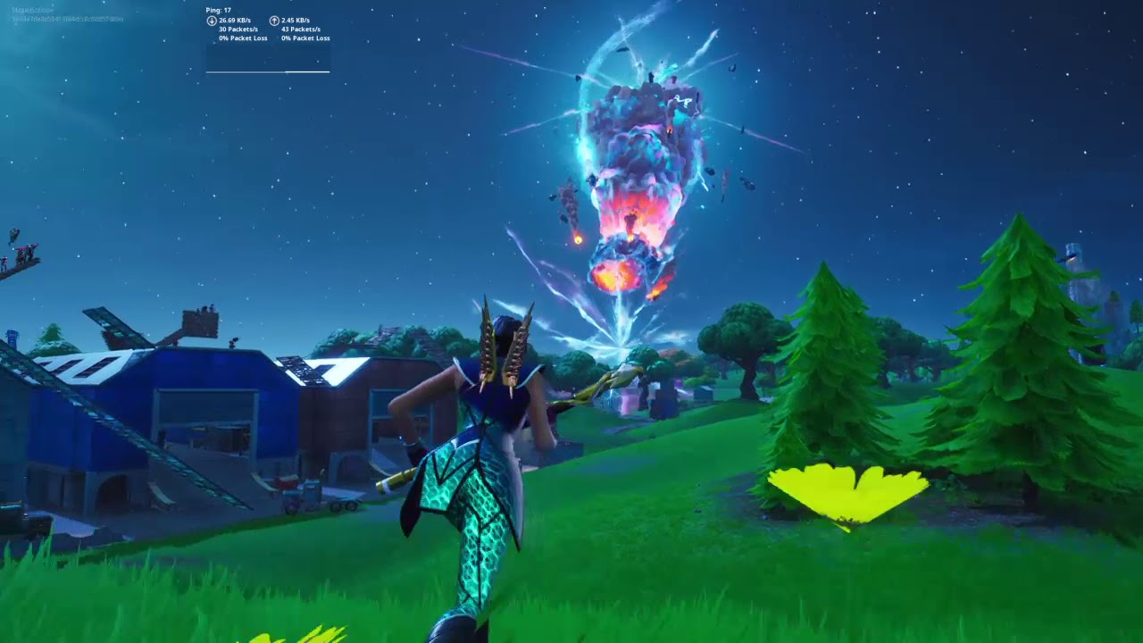 Fortnite the end event - YouTube