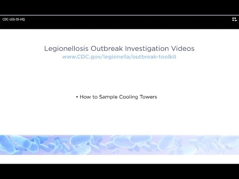 How To Sample Cooling Towers During Legionellosis Outbreak Investigations