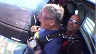Funny First Time Skydiver