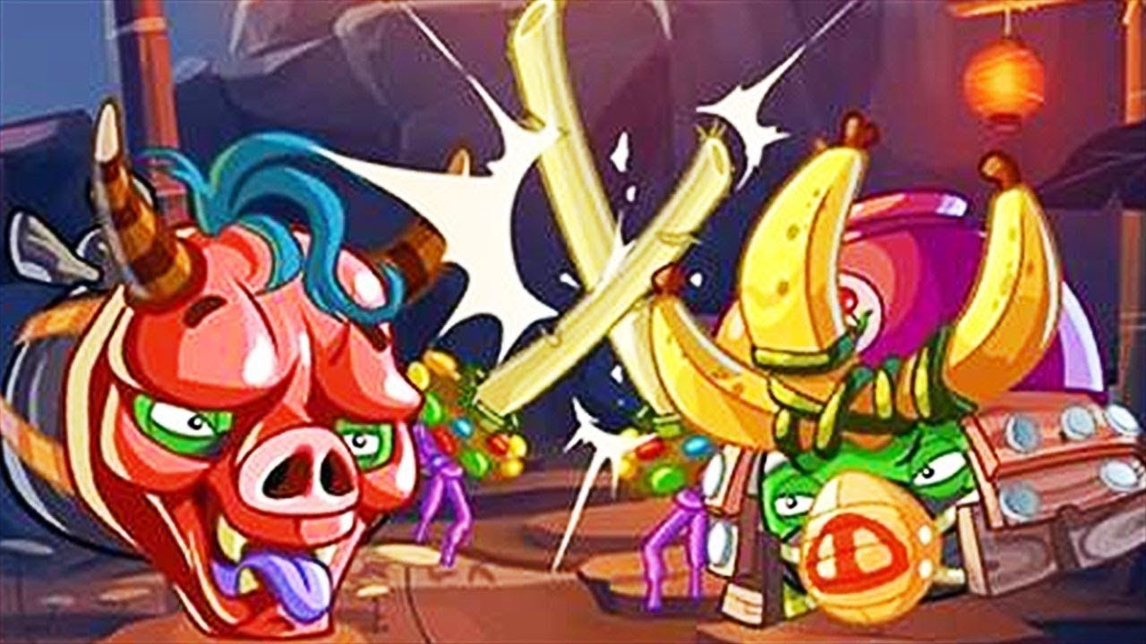 Angry Birds Epic - Blue Bird Vs Ninjas New Event Under The Cloud Of Night -  Part 2 - YouTube