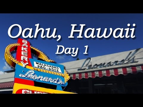 Oahu Hawaii 2014 - Day 1