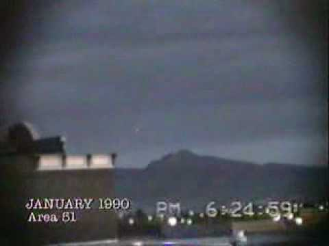Ufo's over area 51