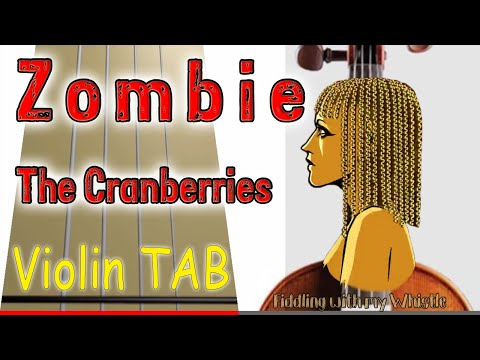 Zombie - The Cranberries - Violin - Play Along Tab Tutorial