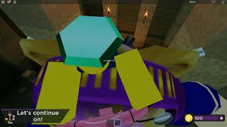 Playing time travel adventures mummy mystery Roblox episode 166