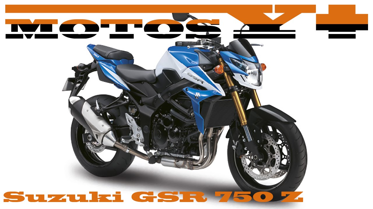 suzuki gsr 750 z 2016 prueba test with subtitles in english youtube. Black Bedroom Furniture Sets. Home Design Ideas