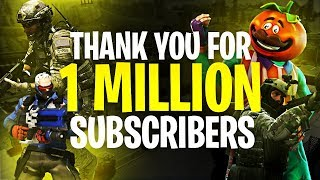 THANK YOU FOR 1 MILLION SUBSCRIBERS!!