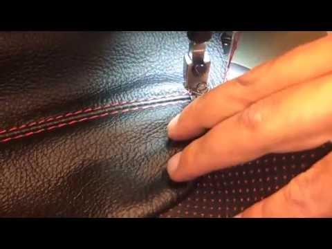 видео: Перетяжка сидений автомобиля