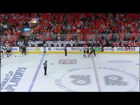 Pittsburgh Penguins - Philadelphia Flyers 4:8 ; 04.15.12. Game 3