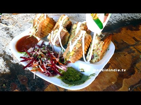Bombay Sandwich | Jeetu Sandwich Center | Dongri | MUMBAI STREET FOOD | 4K VIDEO