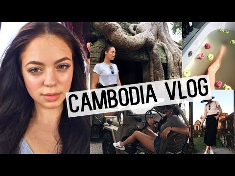 TRAVEL VLOG: CAMBODIA! (WHERE HAVE I BEEN?)