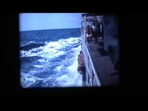 HrMs. Groningen. D813. Onderzeebootjager. Laatste familiedag voor verkoop aan Peru. wmv