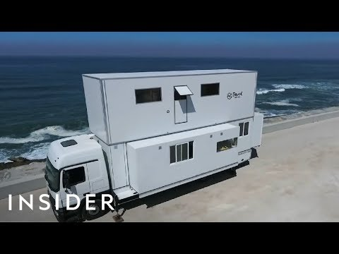 Transforming Truck Is A Hotel On Wheels