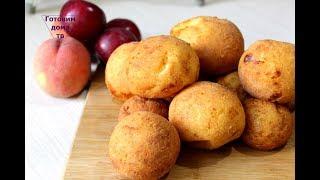 Невероятно простые и вкусные творожные шарики-пончики/Cottage cheese donuts