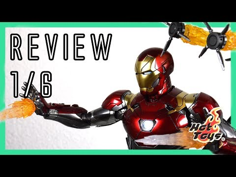 Hot Toys Iron Man Mark 47 XLVII Spiderman: Homecoming 1/6 review