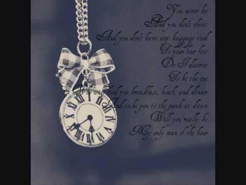 Man of the hour by Norah Jones with Lyrics.