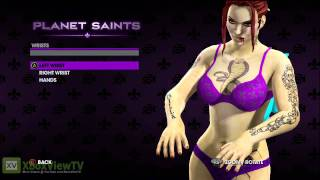 Saints Row: The Third - Female Character Creation Preview Teaser