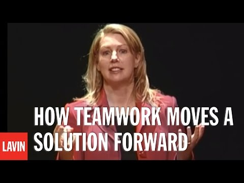 Motivational Speaker Yvonne Camus: How Teamwork Moves a Solution Forward