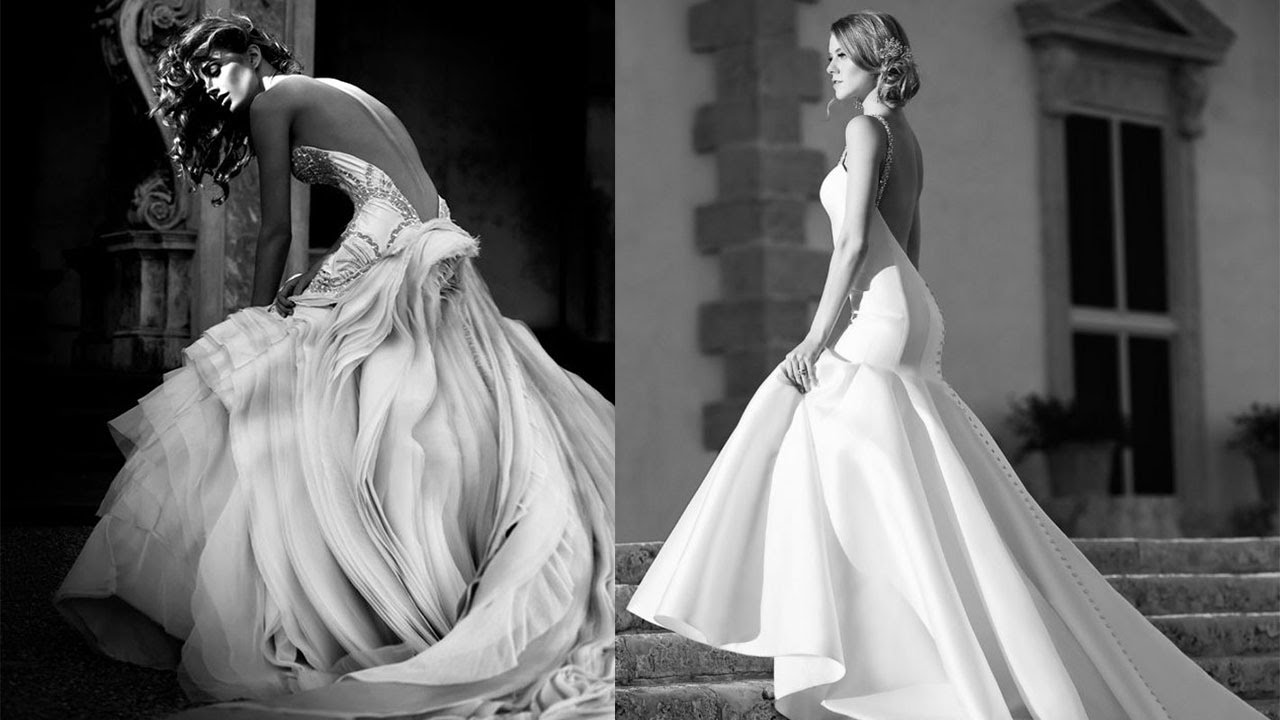 Backless Wedding Gowns: 20 Of The Best Backless Wedding Dresses