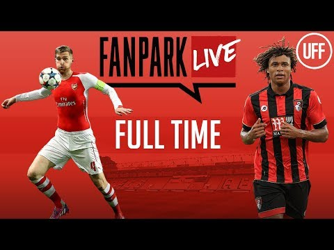 AFC Bournemouth 2 - 1 Arsenal - Full Time - FanPark Live
