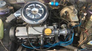 Ваз 2109 Пуля. Регулировка клапанов , новые свечи ngk и бронепровода .