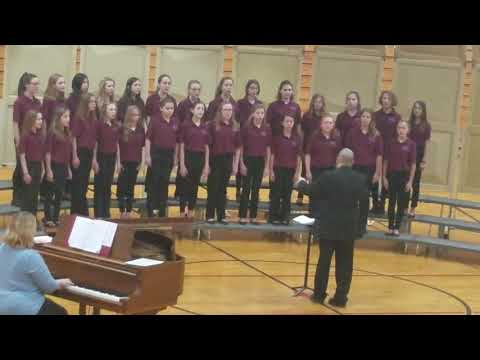 Hanover Central Middle School 6th Grade Choir - 2019 ISSMA Competition - Song 2