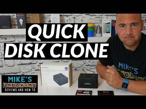 FAST Disk Clone With Orico 6629us3c USB3 DOCK